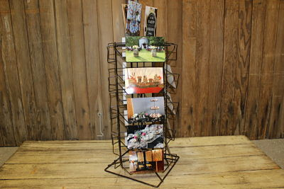 Vintique Rental-Wisconsin Wedding Metal Display Rack