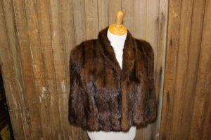 Vintique Rental-Wisconsin Wedding Mink Shawl