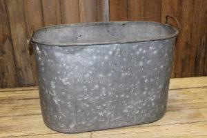 Vintique Rental-Wisconsin Wedding Galvanized Tub