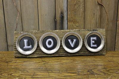Vintique Rental-Wisconsin Wedding Love Sign