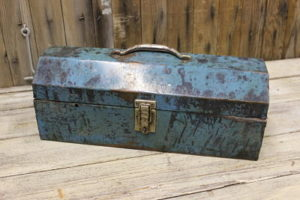 Vintique Rental-Wisconsin Wedding Card Box