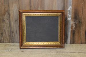 F165: Walnut Gold GessoX Chalkboard