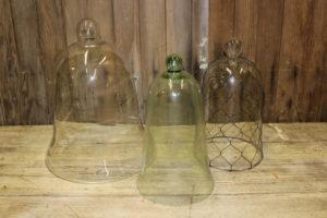 Glass Domes- L