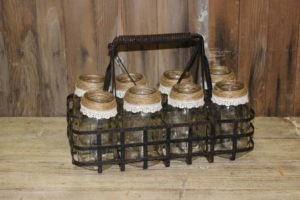 Mason Jar Holder Tray