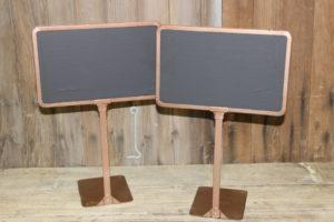 Bronze Chalkboard Stands