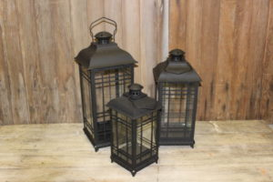 Black Lanterns 3-Piece Set