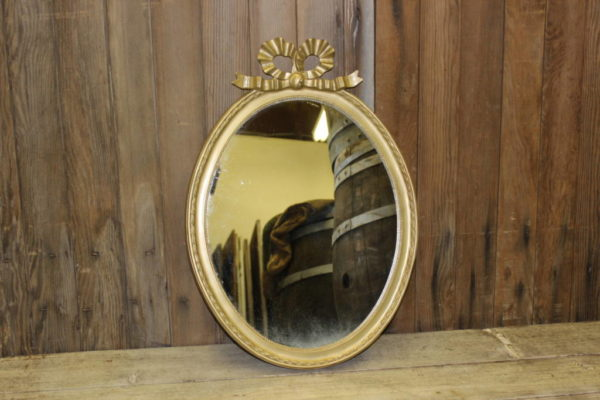Gold Bow Mirror