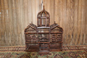 Ornate Wood Birdcage