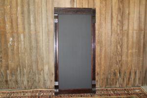 F161: Tall Dark Walnut Chalkboard