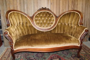 Dark Butterscotch Sofa