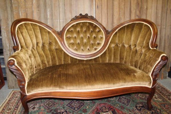 Dark Butterscotch Sofa