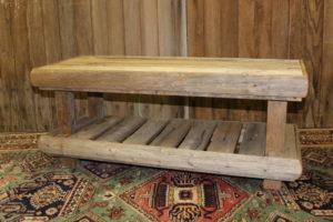 2 Level Barn Wood Coffee Table
