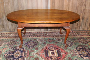 Cherry Oval Coffee Table