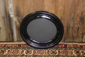 F169: Small Black Oval Chalkboard