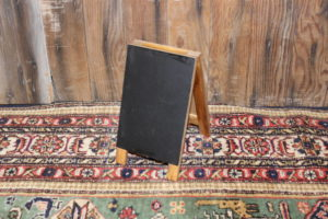 Mini Bistro Chalkboard Stand