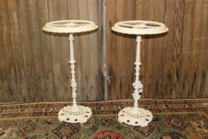Cream Metal Pedestals