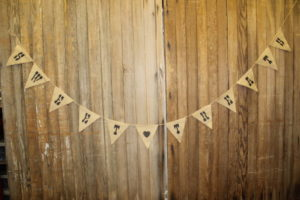 Burlap 'Sweet Treats' Banner