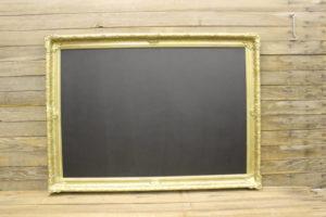 F179 Gold Victorian Chalkboard-XL