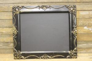 F170 Black & Gold Chalkboard