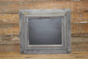 F197 Thick Gray Trimmed Chalkboard