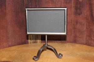 242 Self-Standing Industrial Metal Chalkboard-S
