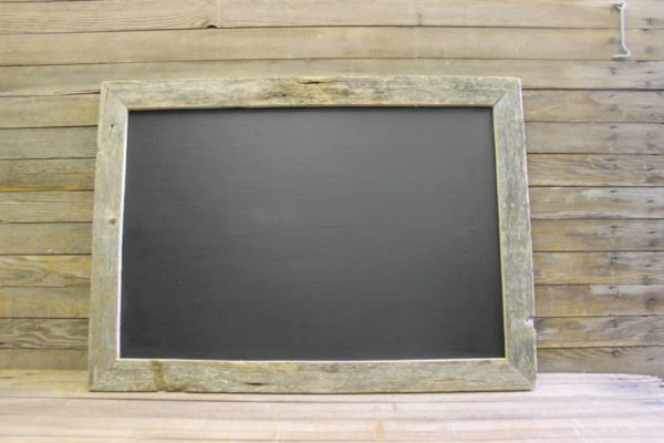 F321: Simple Barn Wood Chalkboard