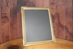 F278: Art Deco Gold Chalkboard