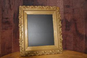 F216: Buttercup Gold Chalkboard