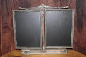 F318: Art Deco 2-Panel Chalkboard