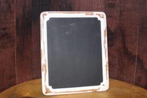 F319: Ivory Shabby Chic Chalkboard