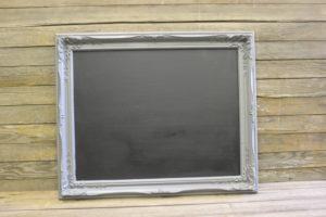 F307: Gray Victorian Chalkboard