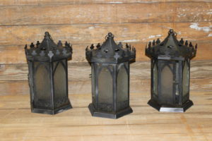 Black Gothic Lanterns- Vintique Rental-WI