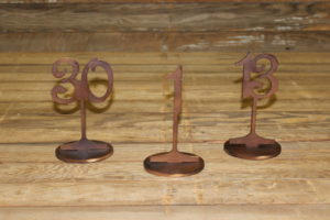 Bronze Table Numbers
