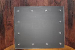 F181: Industrial Lit Chalkboard