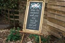 Petal Toss Chalkboard