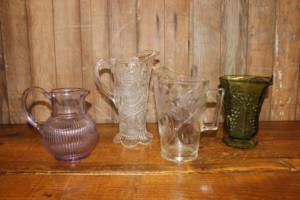 Glass Pitchers-M