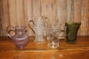 Glass Pitchers-M