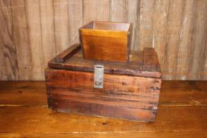 Rustic Shute Card Box