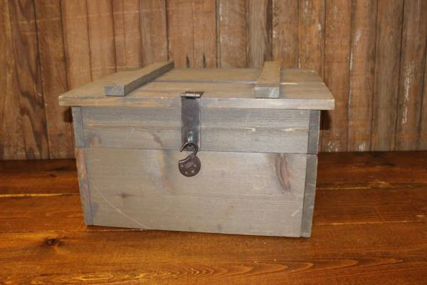 Barn Wood Card Box-Vintique Rental WI