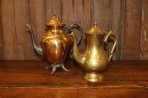 Brass Teapots
