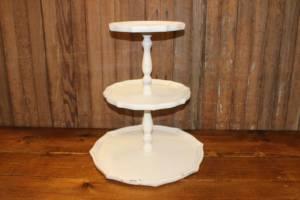 3-Tier Cream Cake Stand