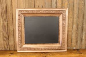 F205 Copper Thick Trimmed Chalkboard