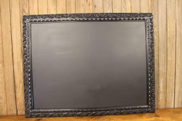 F150 Black Swirled Edged Chalkboard