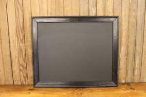 F154 Black Stripped Chalkboard