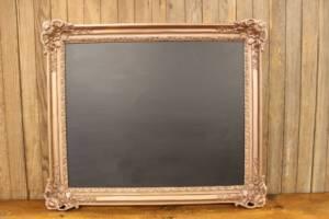 F204 Square Cornered Bronze Chalkboard