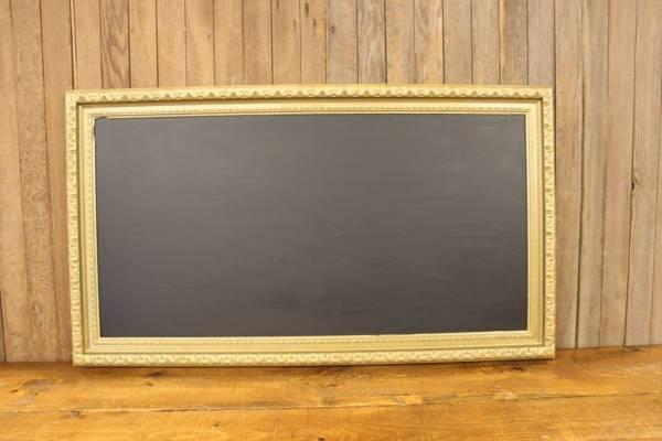 F206 Tall Dusty Gold Chalkboard