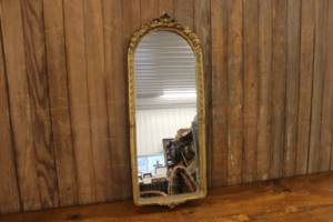 Round Top Gold Mirror