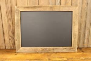 F189 Simple Barn Wood Chalkboard