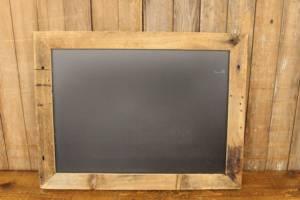 F256 Rustic Barn Wood Chalkboard