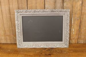 dark gray chalkboard